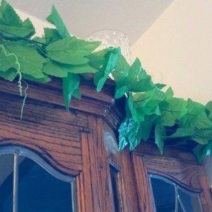 Faux Grape Vine leaves